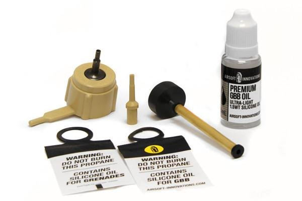 Airsoft Innovations Airsoft Innovations High Strength GunGas Propane Adaptor Kit