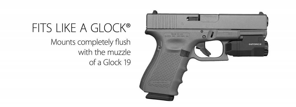 inforce inforce aplc glock 400 lumen pistol light ballahack outdoor