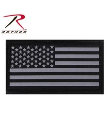 Rothco US Flag Patch W/ Hook