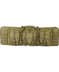 "Valken Tactical 36"" Double Rifle Gun Bag Tan"