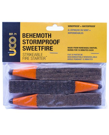 UCO Behemoth Sweetfire Match 3 pack
