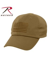 Rothco Operator Cap Coyote Brown w/Flag