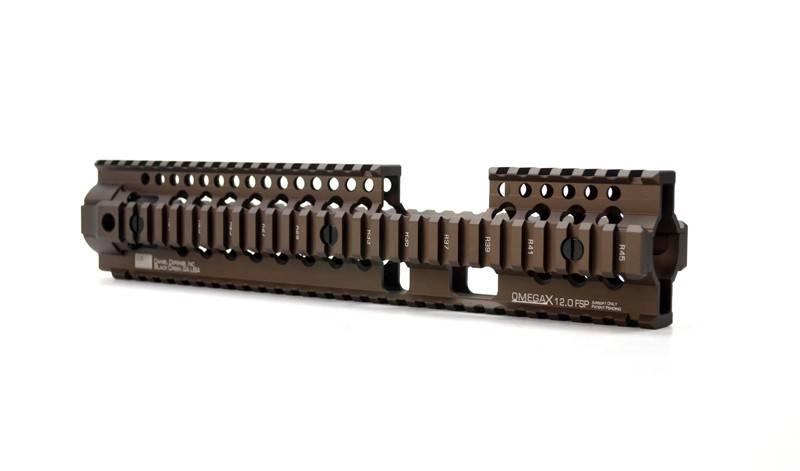 "Madbull Madbull Daniel Defense Omega X 12"" FSP Rail FDE"