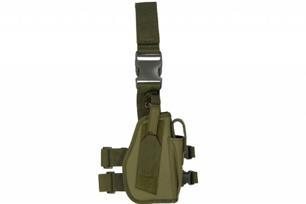 Lancer Tactical Lancer Tactical 92F Drop Leg Holster Olive Drab