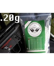 High Power Airsoft BIO .20g 5000 Count BBs