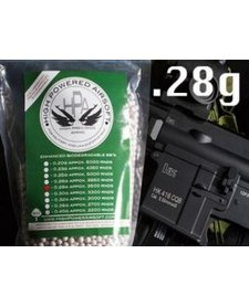 High Power Airsoft BIO .28g 3500 Count BBs