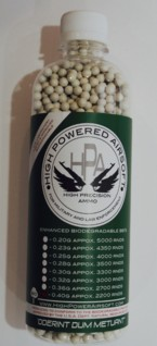 HPA High Power Airsoft BIO .40g 2500 Count BBs