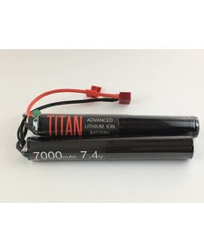 Titan Power 7.4V 7000 mAh Li-Ion Nunchuck Battery Deans