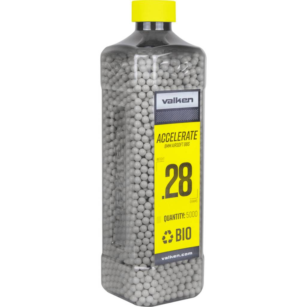 Valken Valken ACCELERATE .28 5000 Bio BBs