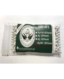 High Power Airsoft BIO .45g 500 Count BBs