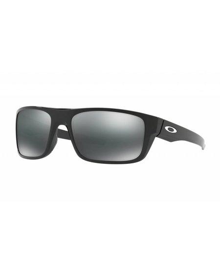 Oakley Drop Point Polished Black Black Iridium Lense
