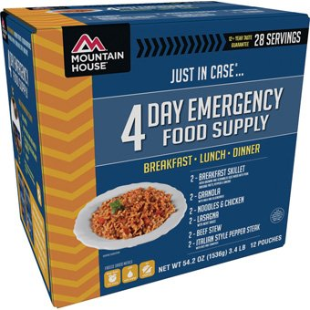 Mountain House Mountain House 4-Day Emergency Food Supply