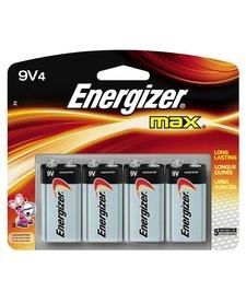 Energizer 9V 4 Pack