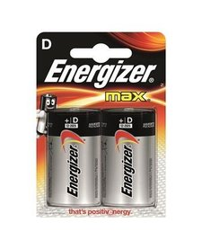 Energizer D Battery 2 Pack