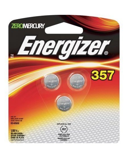 Energizer 357 3 Pack Battery