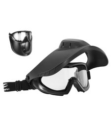 Valken Thermal Goggle w/ Face Shield Black
