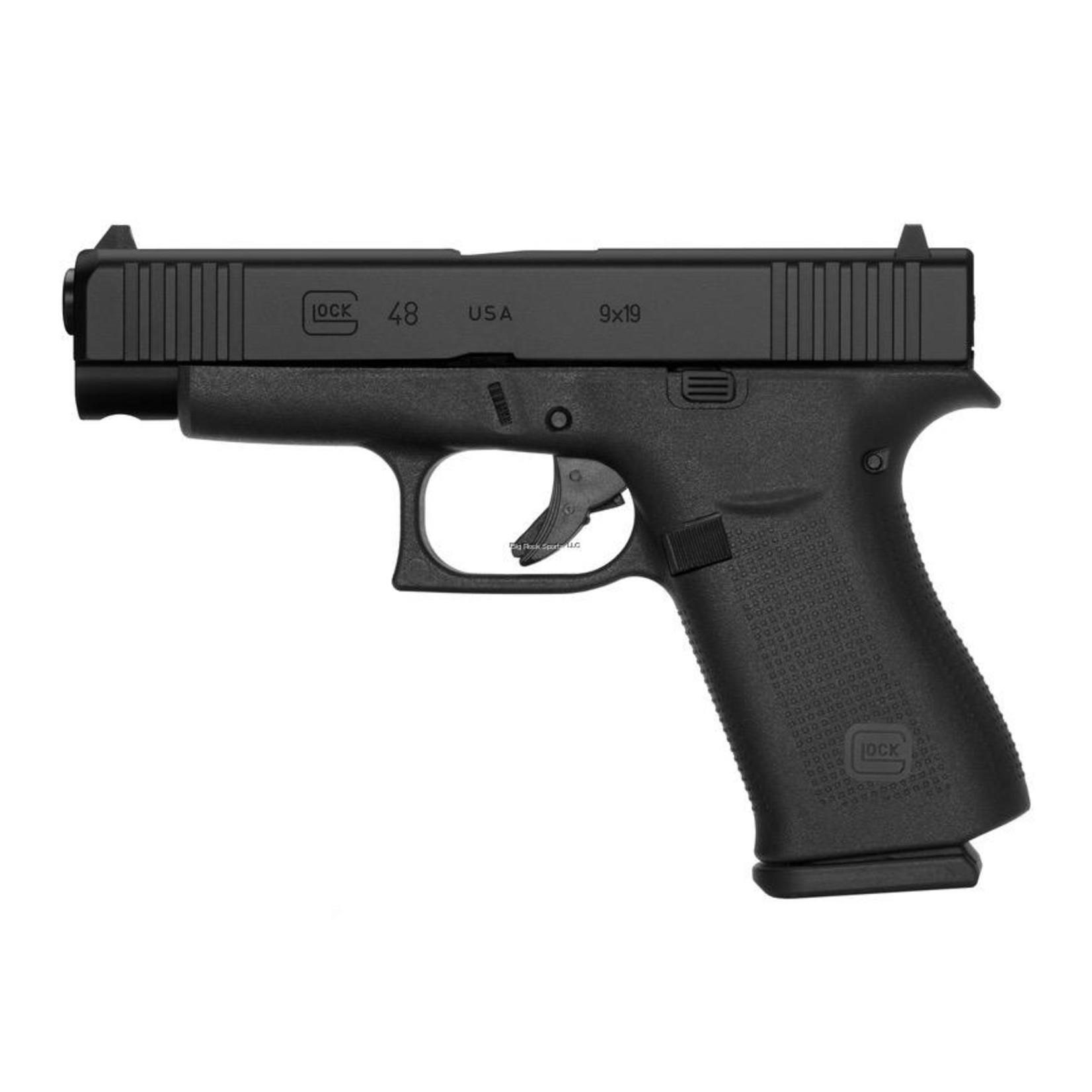 Glock Glock 48 9x19 Slim Line Fixed Sights, Black