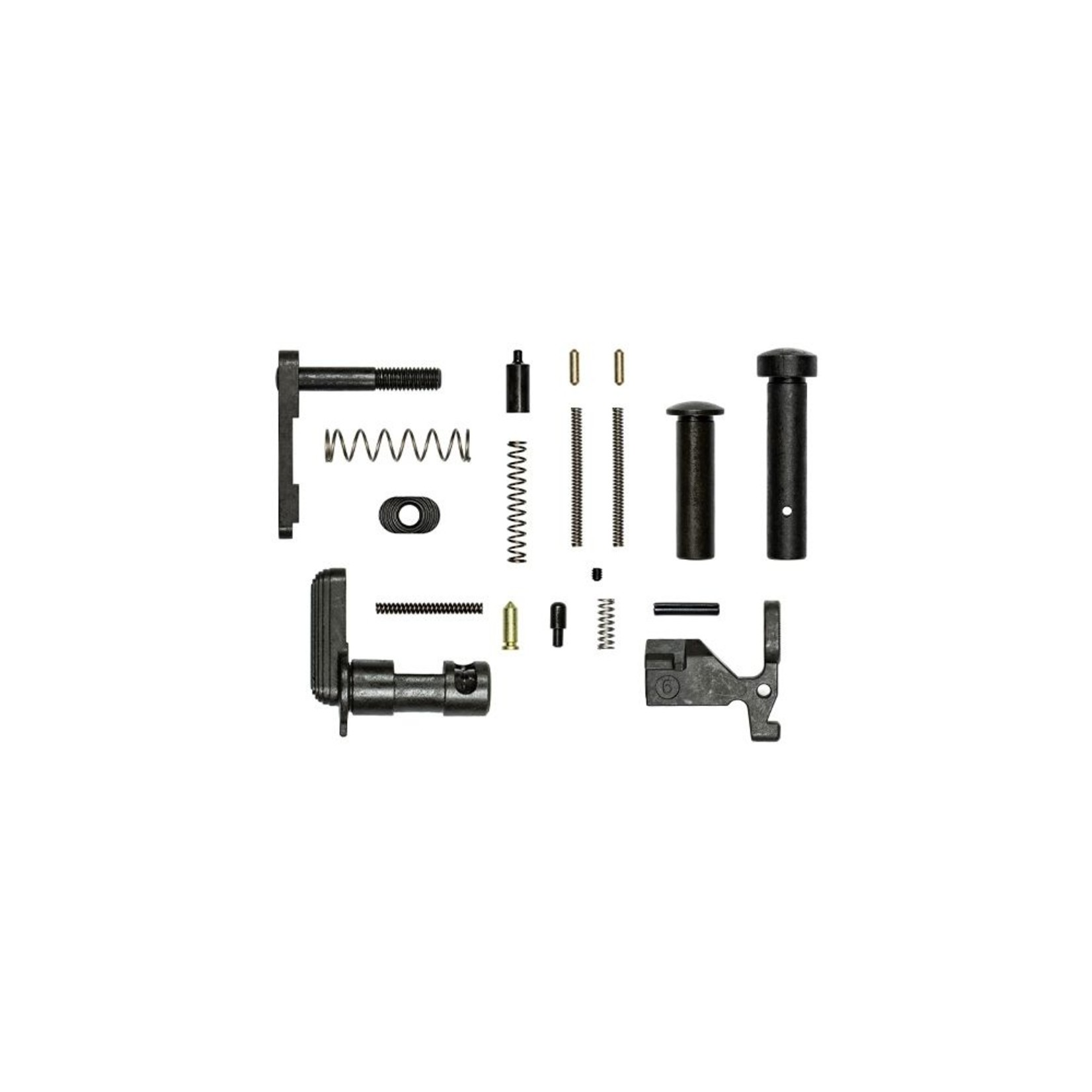 Aero AR15 Lower Parts Kit, Minus FCG/Trigger Guard/Pistol Grip, Aero Precision