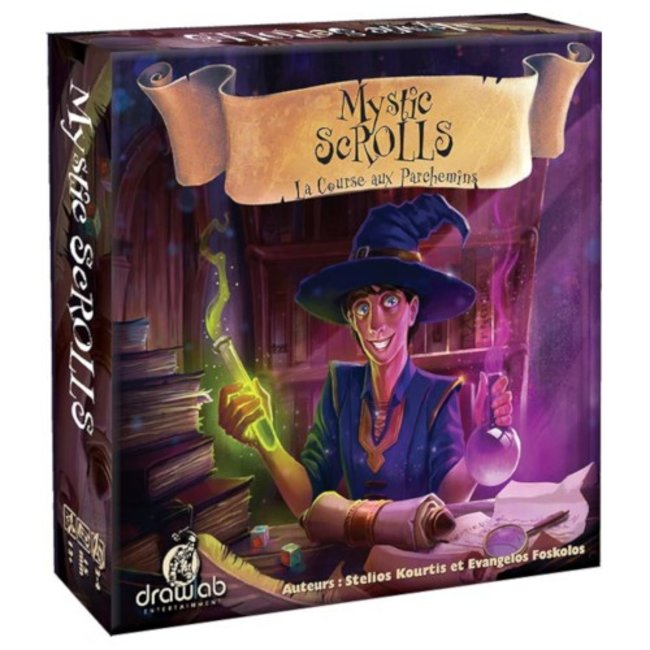 Drawlab Entertainment Mystic Scrolls [French]