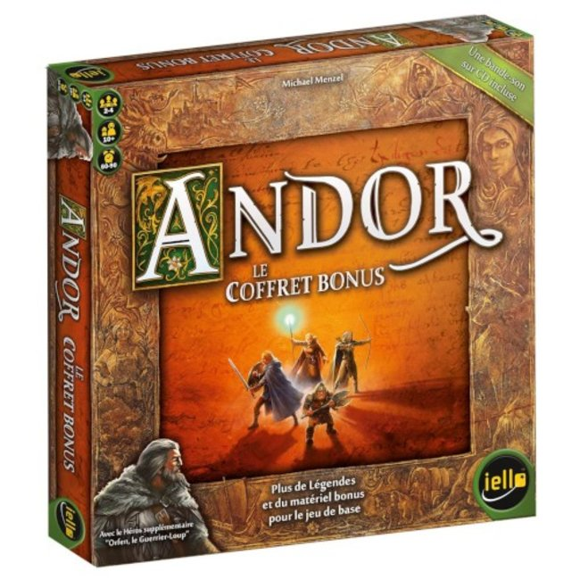 Iello Andor : Le coffret bonus [French]