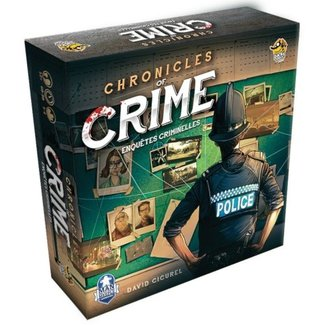Lucky Duck Games Chronicles of Crime + Lunettes RV [French]
