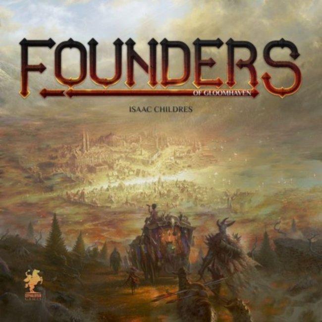 Cephalofair Games Founders of Gloomhaven [anglais]