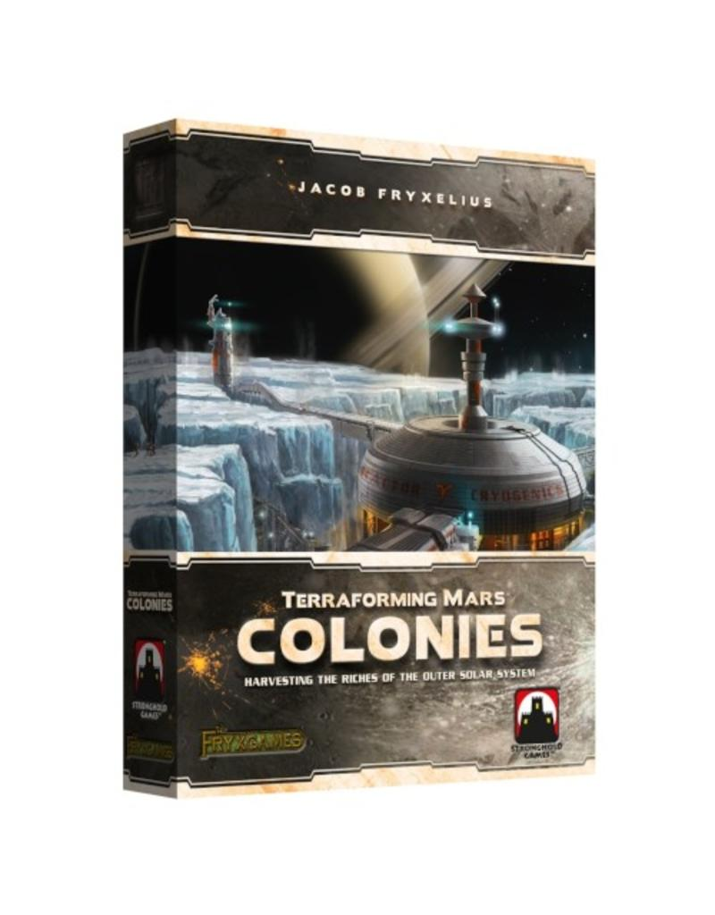 Stronghold Games Terraforming Mars : Colonies [anglais]