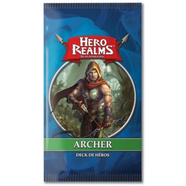 Iello Hero Realms : Deck de héros - Archer [French]
