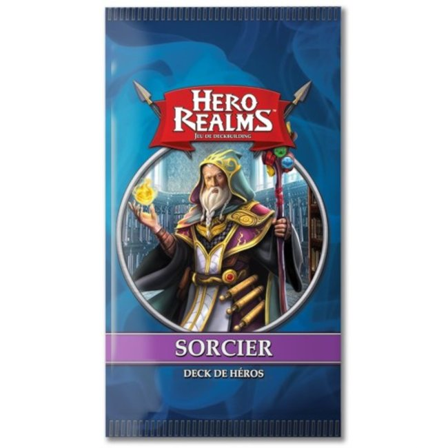Iello Hero Realms : Deck de héros - Sorcier [French]