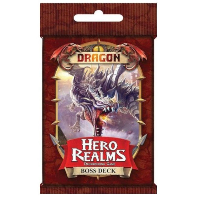 White Wizard Games Hero Realms : Boss Deck - Dragon [English]