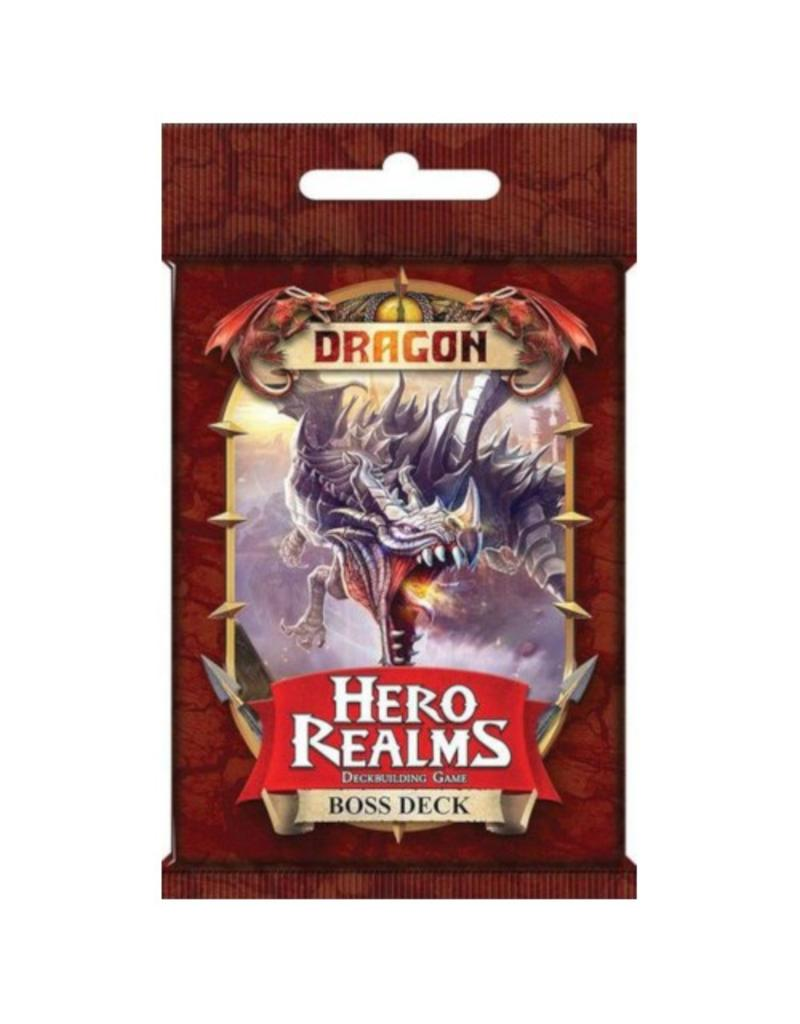 White Wizard Games Hero Realms : Dragon - Boss Deck [anglais]