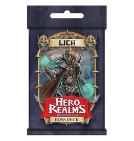 White Wizard Games Hero Realms : Lich - Boss Deck [anglais]