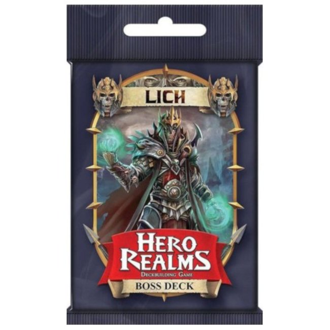 White Wizard Games Hero Realms : Boss Deck - Lich [English]