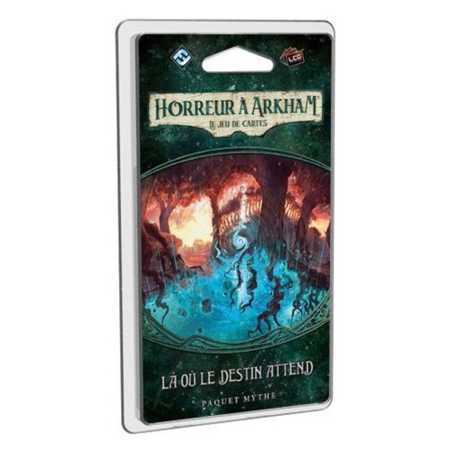 Fantasy Flight Games Horreur à Arkham (JCE) : Là où le destin attend [French]