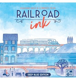 CMON Railroad Ink - Deep Blue Edition [anglais]