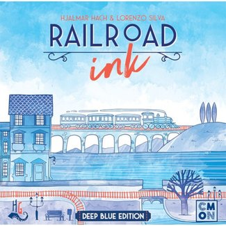 CMON Railroad Ink - Deep Blue Edition [English]