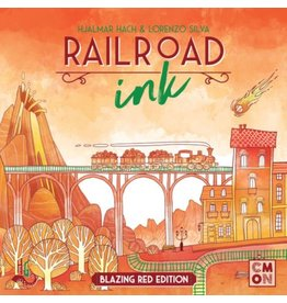 CMON Railroad Ink - Blazing Red Edition [anglais]