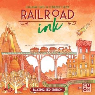 CMON Railroad Ink - Blazing Red Edition [anglais]