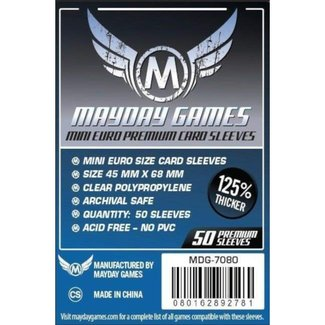 Mayday Games Card sleeves (45mm x 68mm) - 50 pack [MDG-7080]