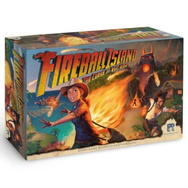 Restoration Games Fireball Island - The Curse of Vul-Kar [English]