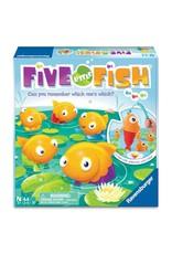 Ravensburger Five Little Fish [multilingue]