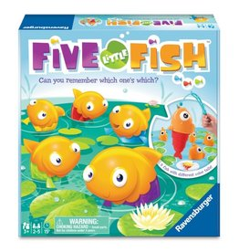 Ravensburger Five Little Fish [multilingue]