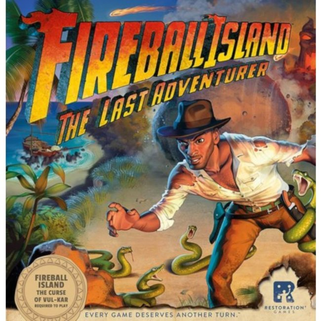 Restoration Games Fireball Island : The Last Adventurer [anglais]
