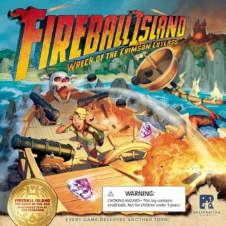 Restoration Games Fireball Island : Wreck of The Crimson Cutlass [anglais]