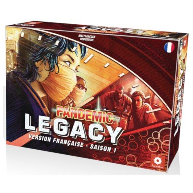 Z-Man Pandemic - Legacy - Saison 1 (boîte rouge) [French]