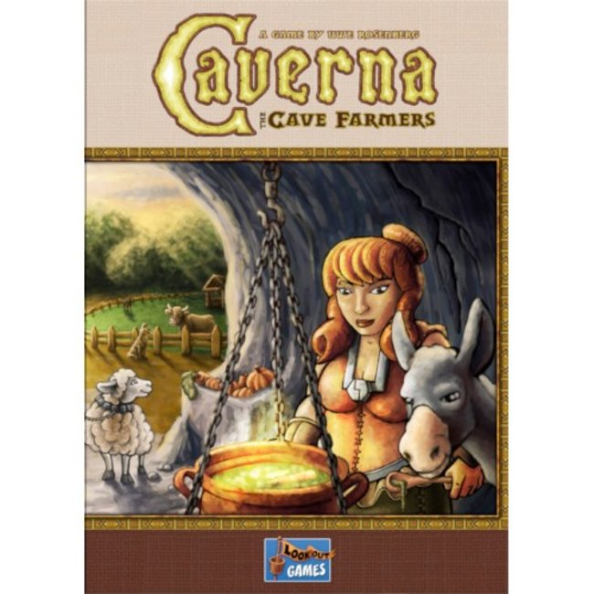 Lookout Games Caverna - The Cave Farmers [anglais]