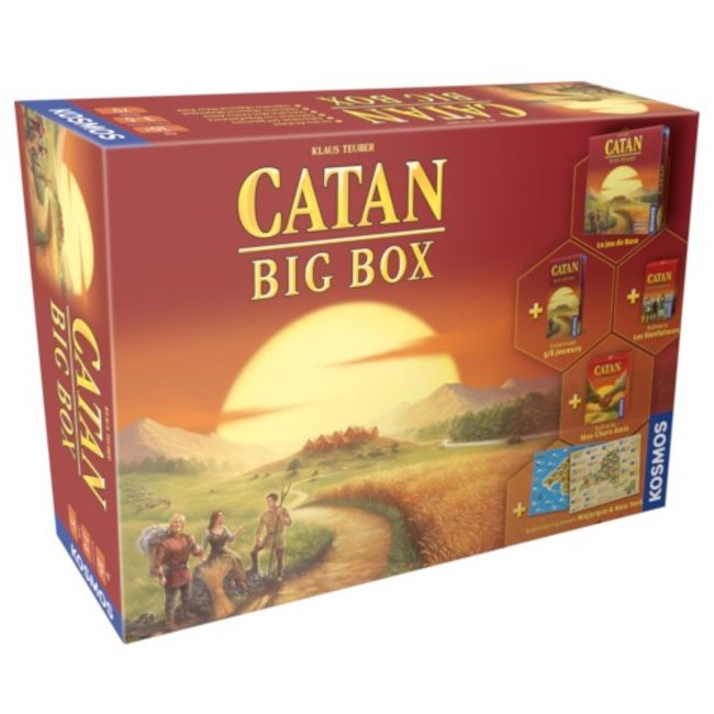 Kosmos Catan - Big Box [français]