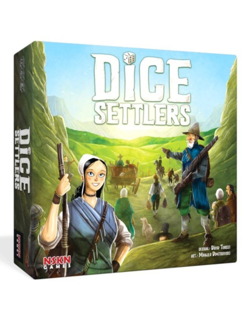 NSKN Games Dice Settlers [anglais]