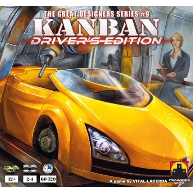 Stronghold Games Kanban - Driver's Edition [anglais]