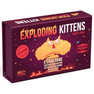 Exploding Kittens Exploding Kittens - Party Pack [English]